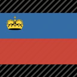 liechtenstein, rectangle icon