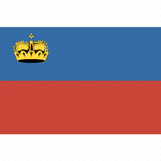 liechtenstein, rectangle icon