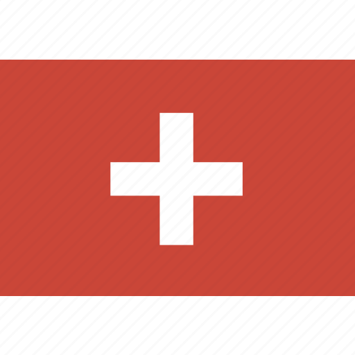 rectangle, switzeland icon