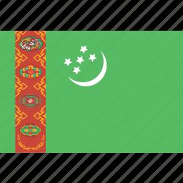 rectangle, turkmenistan icon