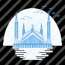 architecture, faisal, landmark, monument, mosque