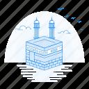 architecture, kaba, khana, landmark, monument icon