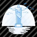 architecture, de, janeiro, landmark, monument, rio icon