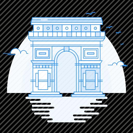 arch, architecture, landmark, monument, triumphal icon
