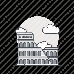 coloseum, italia, landmark, monument, roma, world icon