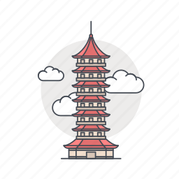 building, china, landmark, pagoda, suzhou, world icon