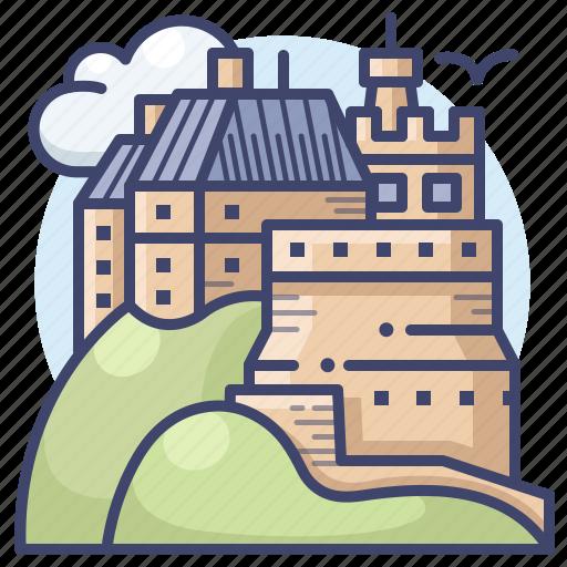 Architecture, castle, edinburgh, scotland icon - Download on Iconfinder