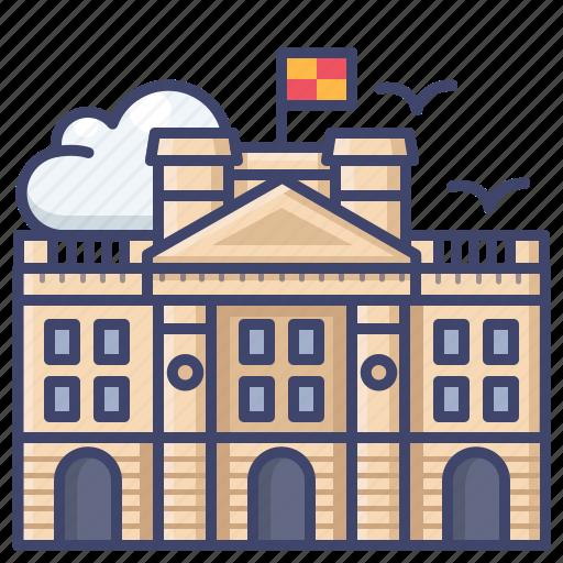 Buckingham, kingdom, london, palace, united icon - Download on Iconfinder