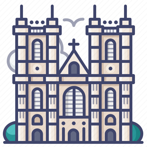 Abbey, british, england, westminster icon - Download on Iconfinder