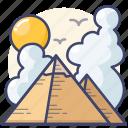 cairo, egypt, giza, pyramids
