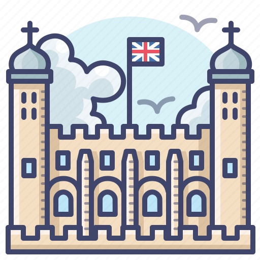 architecture, england, london, tower icon