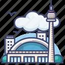 canada, cn, landmark, tower icon