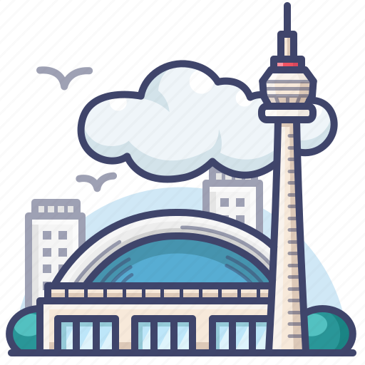 Canada, cn, landmark, tower icon - Download on Iconfinder