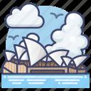 australia, house, opera, sydney