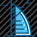 burj, arab, world, landmarks, monument, travel, uae icon