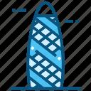 the, gherkin, uk, world, landmarks, monument icon