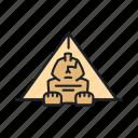 cairo, egypt, landmark, pyramid, sight, sphinx icon