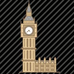 ben, big, england, landmark, london, travel, watch icon