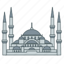 blue, istanbul, landmark, mosque, sultan ahmad, travel, turkey icon