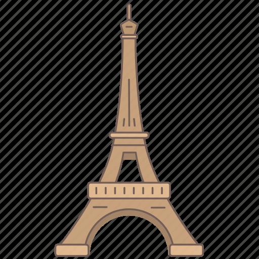 eiffel, france, landmark, paris, tower, travel, wonder icon