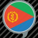 eri, eritrea, flag, language, nation, world icon