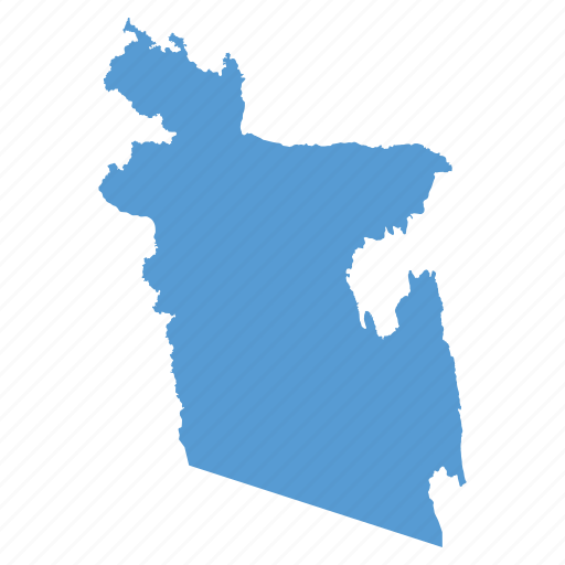 asian, bangla, bangladesh, country, location, map, navigation icon