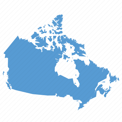 Canada canadian country location map navigation icon Icon