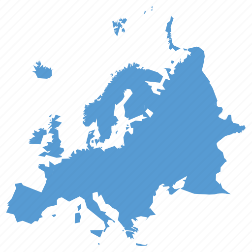 continent, europe, european, gps, location, map, navigation icon