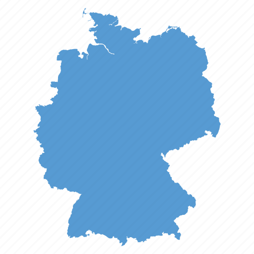 country european german germany location map navigation icon
