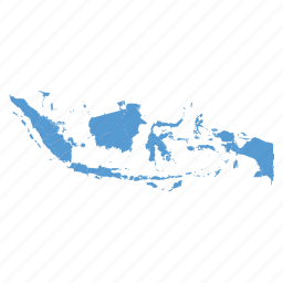 country, indonesia, indonesian, location, map, navigation icon