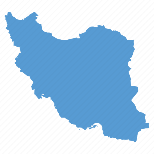 Country, iran, iranian, location, map, navigation icon