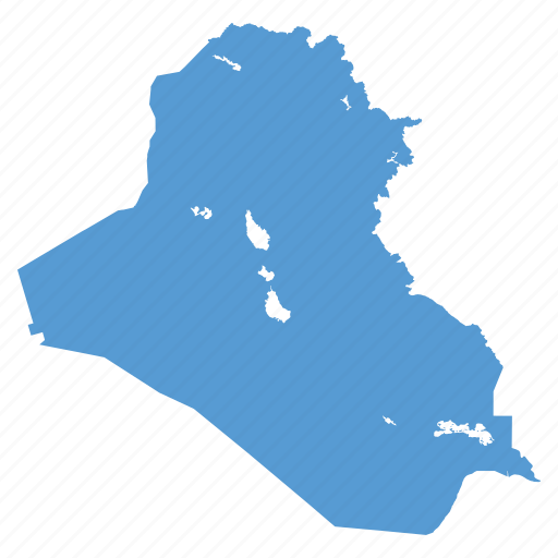 Country iraq iraqi location map middle east navigation icon