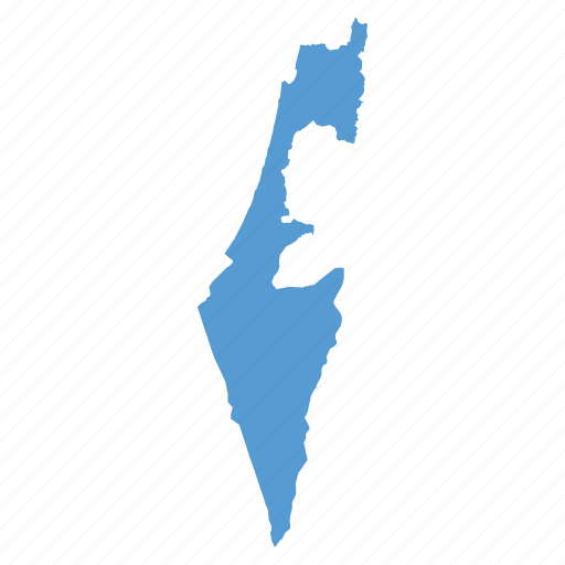 country, israel, israeli, jewish, location, map, navigation icon