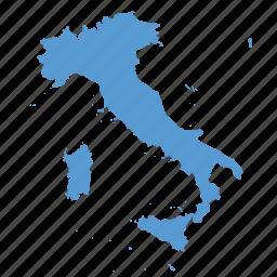 country, european, italian, italy, location, map, navigation icon