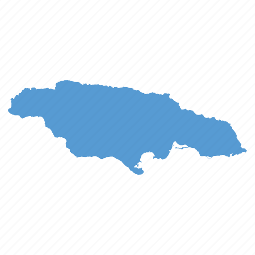 caribbean, country, jamaica, jamaican, location, map, navigation icon