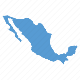 country, location, map, mexican, mexico, navigation icon