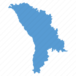 country, map, moldova, moldovian, navigation icon