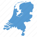 country, dutch, european, location, map, navigation, netherlands icon