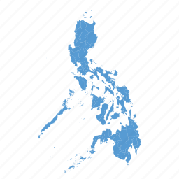 country, location, map, navigation, philippines icon