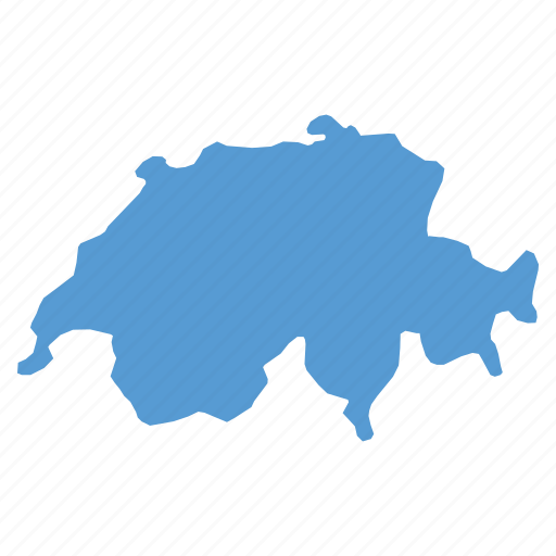 country, european, location, map, navigation, swiss, switzerland icon