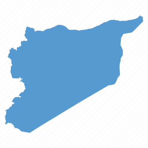 country, location, map, navigation, syria, syrian icon