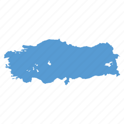 country, location, map, navigation, turkey, turkish icon