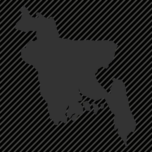 bangladeshmaps, country, map, world icon
