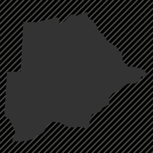 botsawanamaps, country, map, world icon