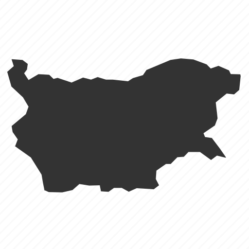 bulgariamaps, country, map, world icon