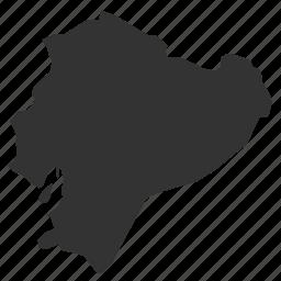 country, ecuadormaps, map, world icon