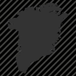 country, greenlandmaps, map, world icon