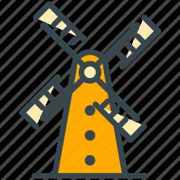 dutch, history, holland, monuments, windmill, world icon