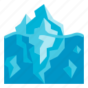 iceberg, polar, nature, scenery, landscape
