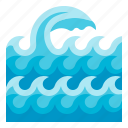 wave, ocean, water, sea, beach